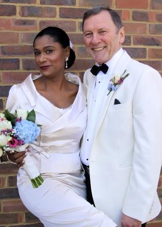 Wedding Dress and Jacket forAngela