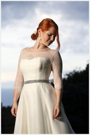 Wedding Dress and Veil forHarriet